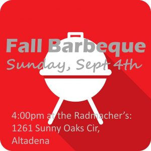 Fall Barbeque 2